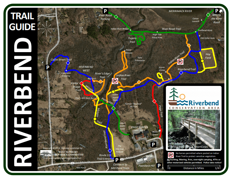 Map of Riverbend Trails and Riverbend West Trails
